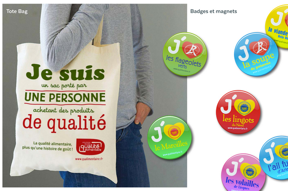 Groupement Qualite Alimentaire Tote Bag