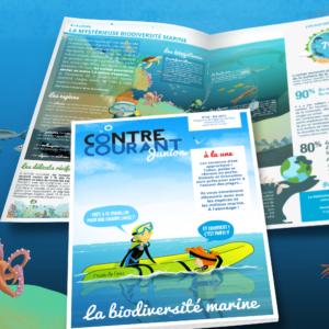 L'agence De L'Eau Choisit Bien Fait Pour Ta Com' Pour Son Magazine Jeune Public