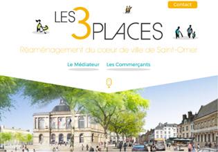 Les 3 Places De Saint-Omer / Voix Publique